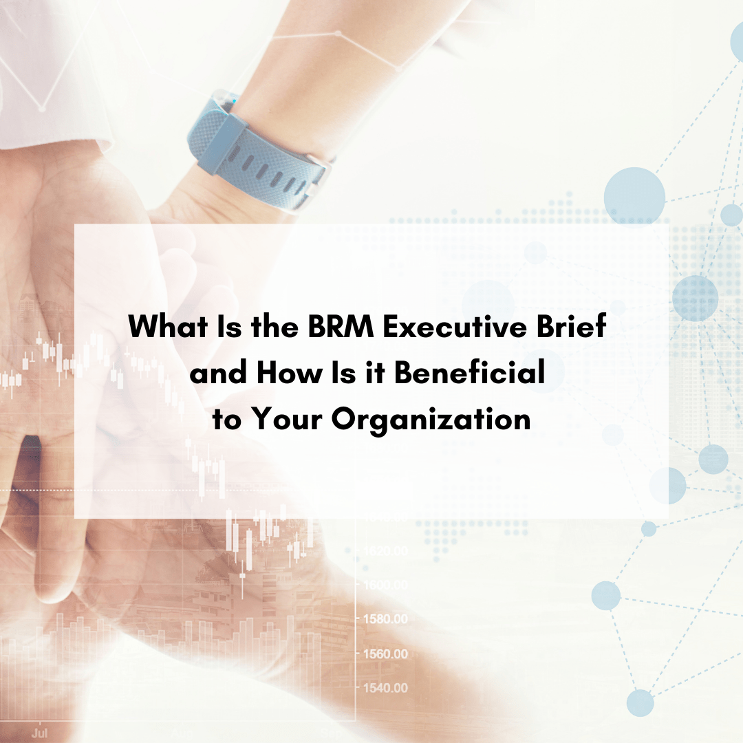 What Is the BRM Executive Brief and How Is it Beneficial to Your Organization